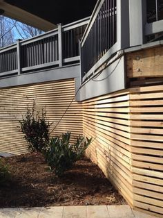 Alla About Deck Skirting Ideas Lattice Other Than Lattice Under Deck Skirting Ideas Inexpensive Deck Skirting Ide Haus Deck Terassenentwurf Terrassen Design