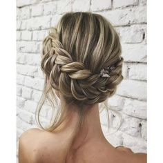 Unique Wedding Hair Ideas You'll Want to Steal ❤ liked on Polyvore featuring hair, beauty, braid, hair styles and hairstyles
