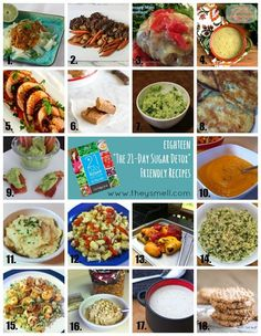 18 Recipes for The 21-Day Sugar Detox • Healthy Lifestyle Chicago Area Mom Blogger