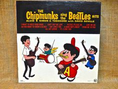 The Chipmunks  The Chipmunks Sing the Beatles by thevinylfrontier
