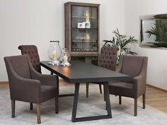 Fink Living Gartentisch / Esstisch Montana schwarz kaufen im borono Online Shop