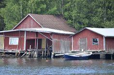 old boat sheds