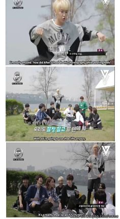 Honesty time with Seventeen