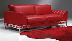 Italian Red Sofa Furniture By Tonino Lamborghini