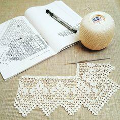 """1,489 """"Μου αρέσει!"""", 20 σχόλια - Crochet Filet (@crochetfilet) στο Instagram: """"One of the most beautiful crochet works I have ever seen. # crochetfilet #filetcrochet…"""""""