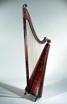Welsh Triple Harp 1750    #TuscanyAgriturismoGiratola