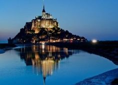 Mount Saint Michel Castle in France by nadine