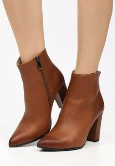Botine piele Miliana Camel Booty, Ankle, Shoes, Fashion, Heels, Swag, Zapatos, Moda, Shoes Outlet