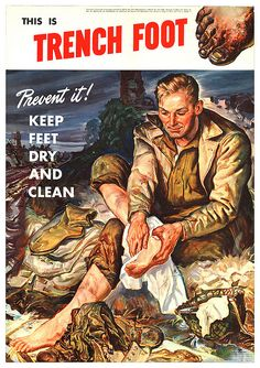 """This Is Trench Foot"", 1944"