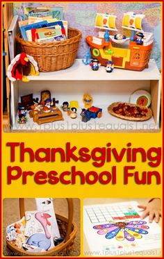 Thanksgiving Preschool from @{1plus1plus1} Carisa