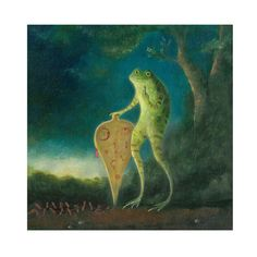 Animal Painting Fine Art print: The Galvanist by TheLitusGallery