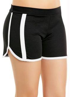 Short Preto Feminino Shorts