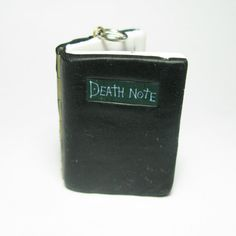 Death Note Book Locket pendant animé light L by DevilishDesigns, $30.00