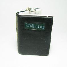 Death Note Book Locket pendant animé light L by DevilishDesigns, $30.00