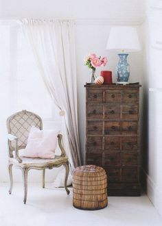fab finds: a bedroom chair - The Decorista
