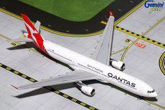 1/400 GeminiJets Qantas Airbus A330-200 Diecast Model