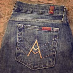 7 for all Mankind jeans 7 for all Mankind blue jeans 7 for all Mankind Jeans