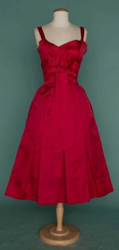 CHRISTIAN DIOR PARTY DRESS, LATE 1950s