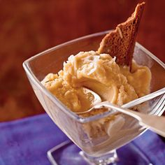 Salted Caramel Ice Cream | It is hard to beat the sweet and salty flavor of this indulgent yet lightened ice cream.