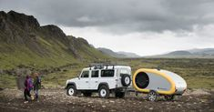 """""""The only way to see Iceland"""" with adorable mini Mink Campers 