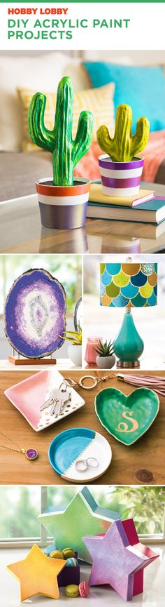 Feeling creative? Check out these acrylic paint projects ✨
