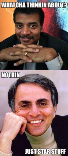 Neil deGrasse Tyson / Carl Sagan