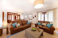 Living Room designed by Knox Design in Villa Campos