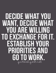 Get to work.