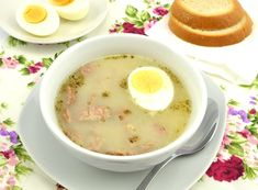 Żurek przepis idealny Cheeseburger Chowder, Food, Essen, Yemek, Meals