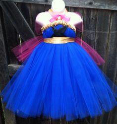 Princess Anna Tutu DressDisney's Frozen Inspired by FancifulFluff