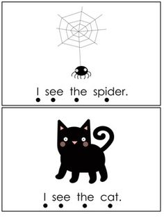 Free! Halloween Emergent Reader- Sight Words, I see the.....