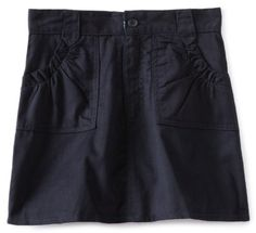 US Polo Assn Big Girls Twill Two Pocket Scooter Navy14 * Visit the image link more details. Note:It is affiliate link to Amazon.