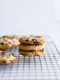 Gluten-Free Chocolate Chip Cookies @ Minimally Invasive
