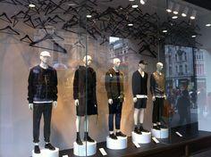 Hennes  Mauritz | Men's Hanger Window