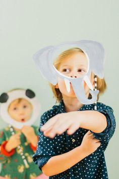 Free Printable DIY Masks For Kids