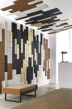 Need some design ideas? Get inspired with some of our favorite Xorel Artform patterns and shapes here. Acoustic Fabric, Acoustic Panels, 3d Panels, Fabric Panels, Carnegie Fabrics, Healthcare Design, 3d Wall, Wall Treatments, Form