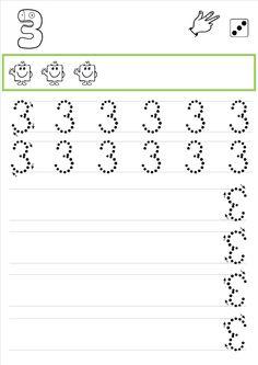 La classe de Laurène: fiches écriture des chiffres