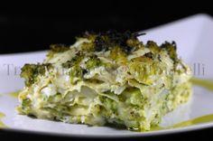 Lasagna in bianco, con pesce San Pietro e broccolo siciliano