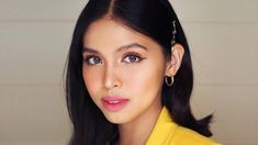 Maine Mendoza's Summer Makeup Look Summer Makeup Looks, Summer Looks, Liquid Liner, Liquid Lipstick, Maine Mendoza Outfit, Mac Powder, Ombre Lips, Summer Glow, Girl Crushes