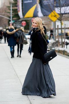 Zanna Roberts Rassi, Senior Fashion Editor, Marie Claire (US) / i like the scarf and dress especially.