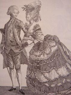 ヴェルサイユ宮殿   宮廷マダムの作法