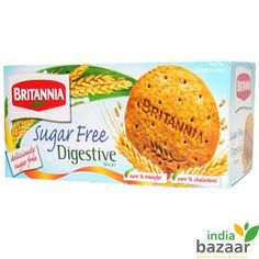 Britannia Sugar free digestive biscuits are created with special care to combine the best of fibers that readily digests and also boost digestion. The great taste and pack of nutrition makes it suitable for all age groups.