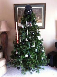 vader christmas tree.