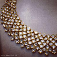 Stunning flawless Diamonds handcrafted by skilled craftsmen of Amrapali Jaipur. Exclusive showcase @ Sakhi Jayanagar