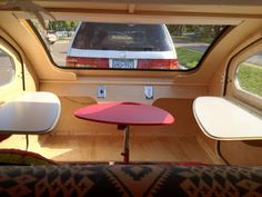 Tiny Yellow Teardrop: Featured Teardrop Trailer: Vistabule