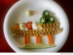 Angry Birds lunch! #food_art #food art