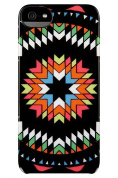 Incase Black Pow Wow Mara Hoffman Snap-On Case for iPhone Iphone 5s, Iphone Cases, Cool Stuff, Stuff To Buy, Bohemian Print, Pow Wow, Mara Hoffman, World Of Color, 5s Cases