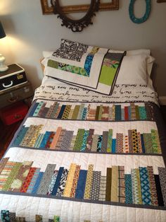 Markie's bookshelf quilt