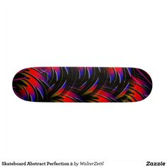 Skateboard Abstract Perfection 2