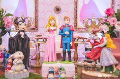 Bela Adormecida: festa de menina decorada com a princesa Aurora